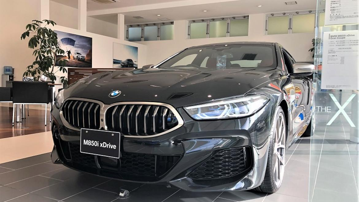 New M850i xDrive Gran Coupe