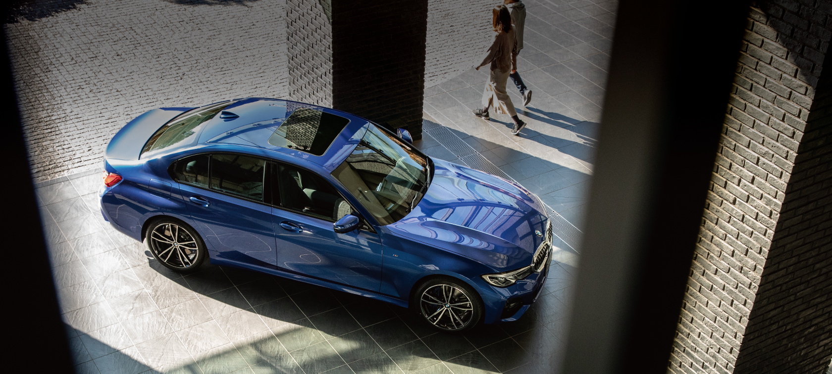 TRY THE NEW BMW 3 SERIES.