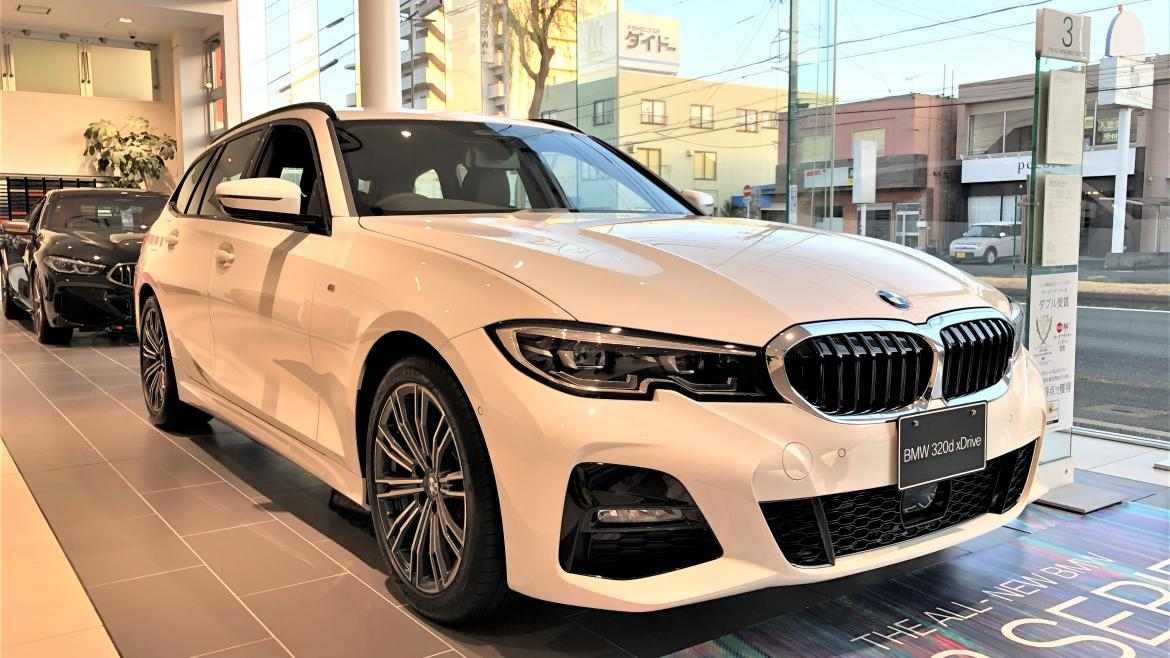 New 320d xDrive Touring