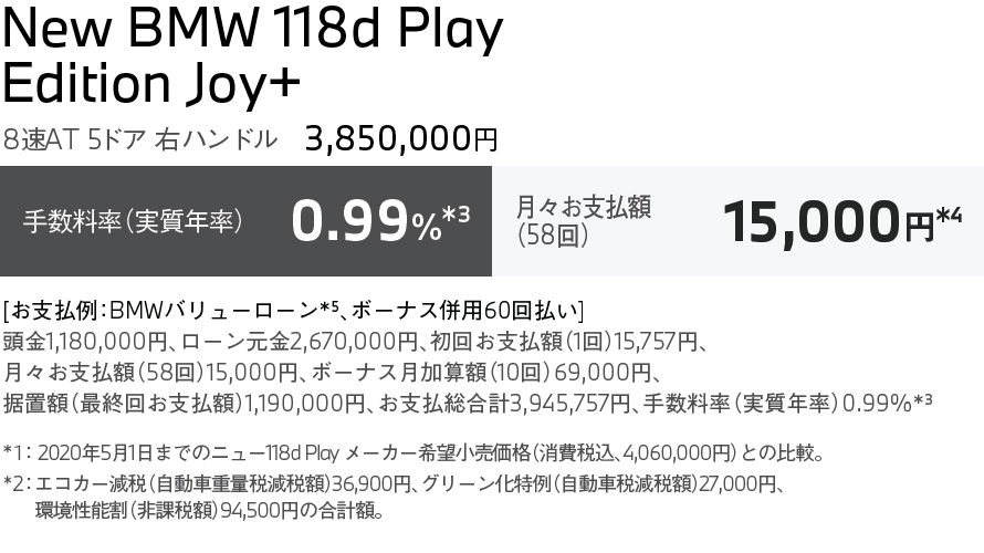 118d Play Edition Joy+
